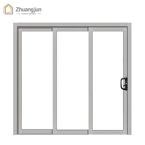 High quality office aluminum frames sliding glass window on China WDMA