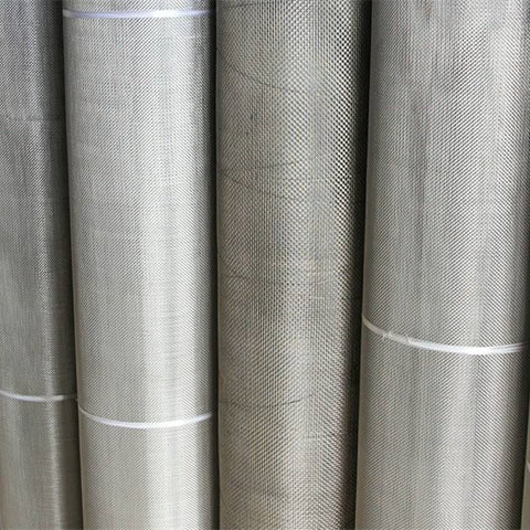 High quality security window screen Stainless steel woven wire mesh on China WDMA