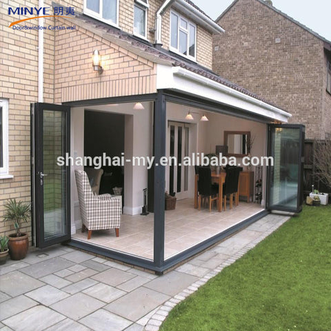 High quality villa used exterior french doors glass bi fold door on China WDMA on China WDMA