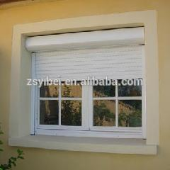 High quality windows with built in blinds aluminium roller shutter on China WDMA