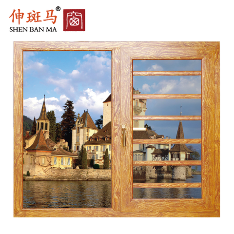 High standard cheap french casement windows aluminum casement widow drawing on China WDMA