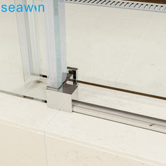 High standard sliding glass shower door hardware handles,shower door sliding rail on China WDMA