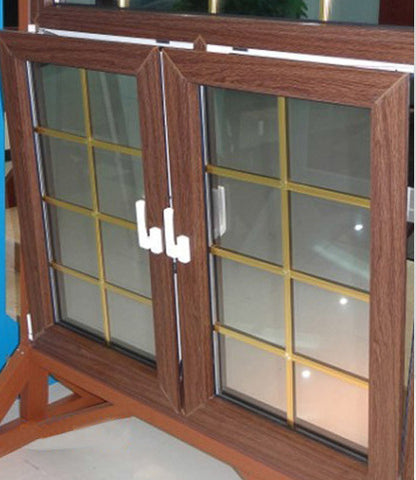 Horizontal Opening Sound-proof And Heat-insulating 2 Track PVC Plastic Steel Windows on China WDMA