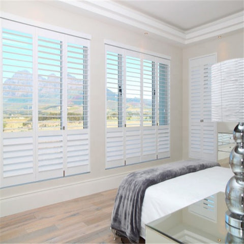 Horizontal Victorian PVC Window Plantation Shutters on China WDMA