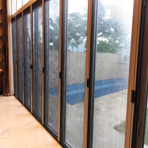 Hot Products New Decoration Right Custom School Door Screen Color Screen Door Retractable on China WDMA