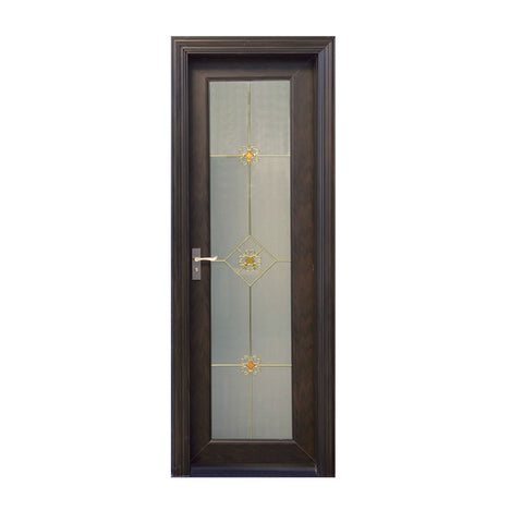 Hot Sale Casement Home Panel Wood Outdoor Blinds New Design Pvc Door on China WDMA