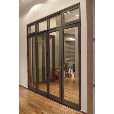 Hot Sale Double Glazed Cheap Folding Interior Door/Aluminum Door Prices on China WDMA