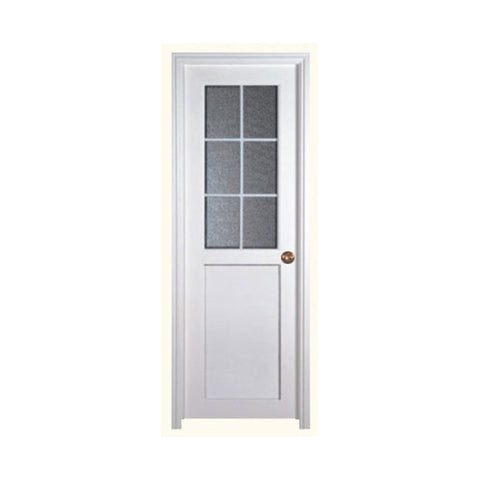 Hot Sale Interior Office Plastic Frame Covering Cheap China French Exterior Pvc Casement Glass Door on China WDMA