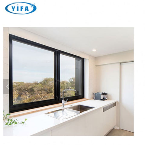 Hot Sale high quality modern house design Aluminum Frame double glazed Sliding Glass Window profile on China WDMA