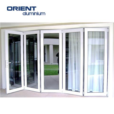 Hot Sales Good Quality Custom Aluminum Frame Folding Sliding Door for South Africa on China WDMA