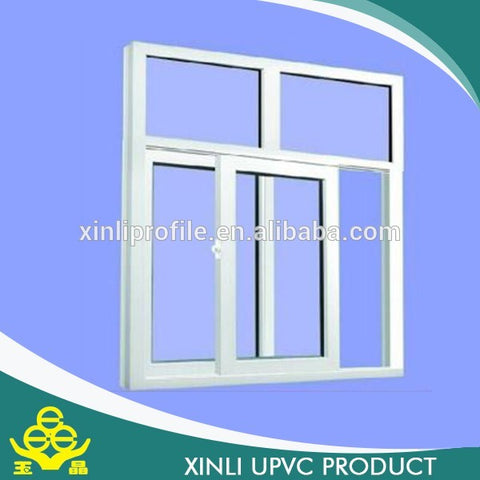 Hot sale Chinese supplier extrusion PVC profile plastic windows and doors , upvc profile raw material on China WDMA