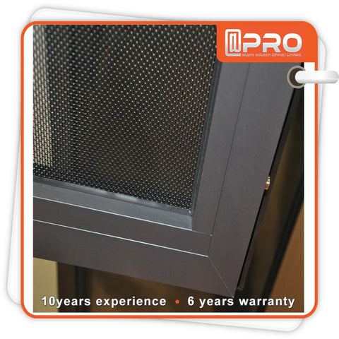Hot sale aluminium sliding glass door handles used made with security screen in Guangzhou on China WDMA