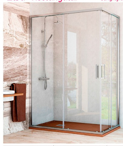 Hot sale custom shower shower glass enclosure sliding door shower screen for europe market on China WDMA