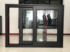 Hot sale factory direct triple sliding window aluminum framed double glazed safety glass with Bestar Price on China WDMA