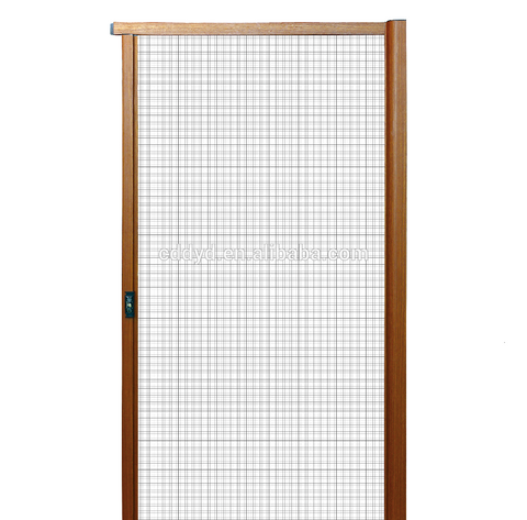 Hot sale fiberglass mesh retractable Aluminum Profile Fly screen For Windows And Doors on China WDMA