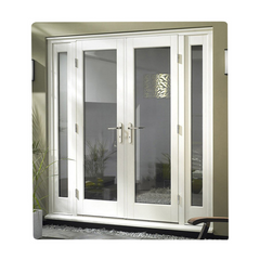 Hot sale upvc office door glaze fully external with cheap price on China WDMA