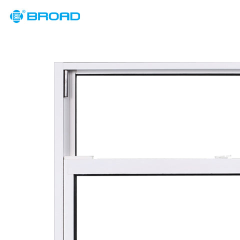 Hot sales aluminum glazed double hung vertical slide windows on China WDMA