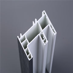 Hot sales pvc extrusion 80mm sliding window profile frame