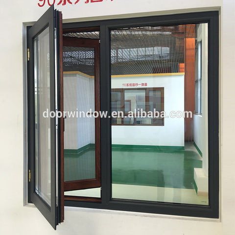 Hot selling best double pane replacement windows glazing company glazed reviews on China WDMA