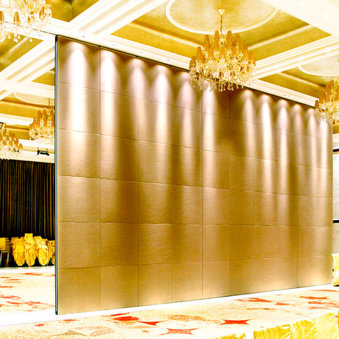 Hotel operable wall system decorative sliding door panel on China WDMA