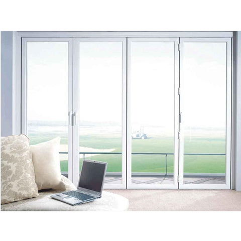 Hotsale aluminium doors windows Metal Frame Double Glass Glazed Hurricane Impact aluminum doors and Window on China WDMA