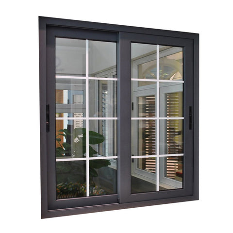 House Used aluminium doors windows Metal Frame Double Glass Glazed Hurricane Impact aluminum window doors and Window on China WDMA