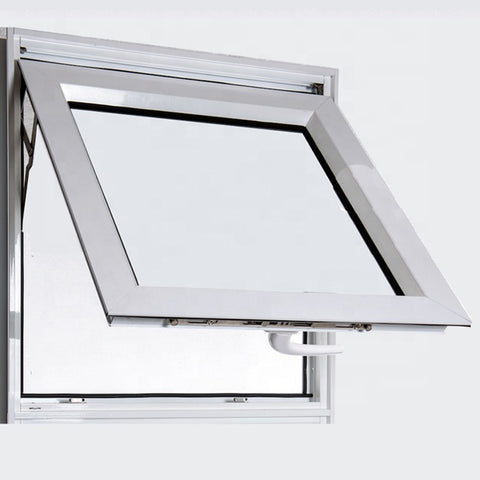 Household kitchen used metal aluminum glass awning window cost on China WDMA