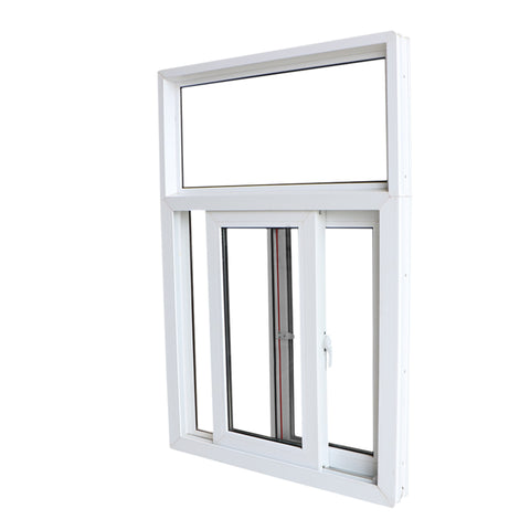Hurricane proof impact pvc sliding windows for house on China WDMA