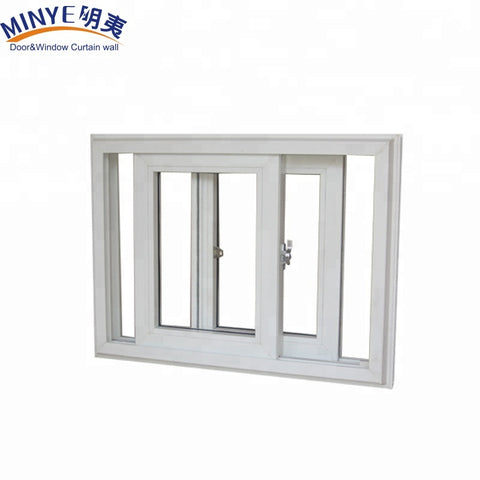Hurricane proof impact window pvc sliding windows office glass sliding windows on China WDMA