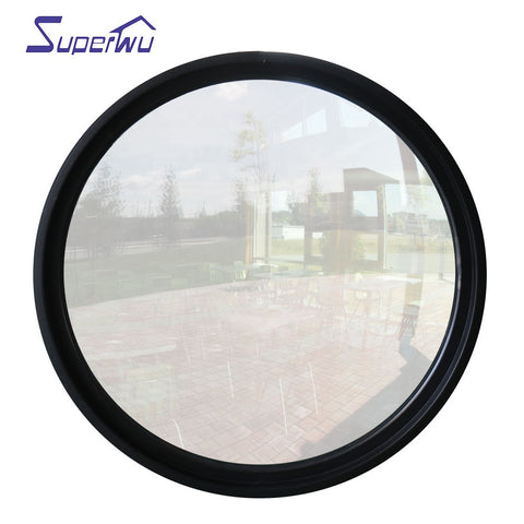 Impact resistance hurricane proof arch fixed round window on China WDMA