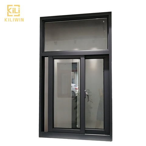 In stock Foshan doors and windows factory custom double glass cheap price aluminum sliding windows for philippines on China WDMA
