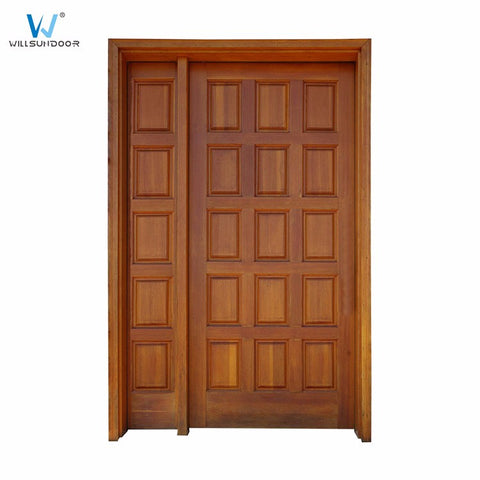 India Kerala house main double door with grill designs on China WDMA