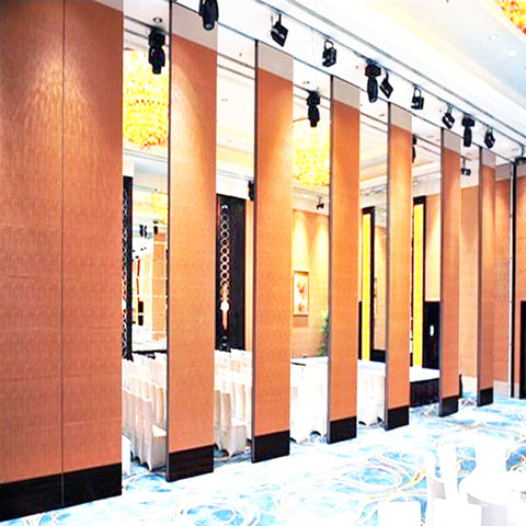 Indian hotel banquet hall sliding folding partition simple indian main door designs on China WDMA
