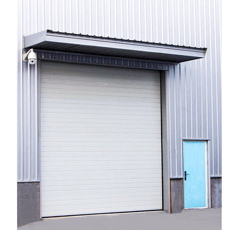 Industrial roll up steel door automatic warehouse sliding door industrial lift door on China WDMA