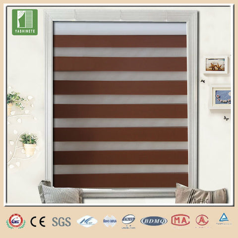 Inside double glass blinds for arch windows on China WDMA