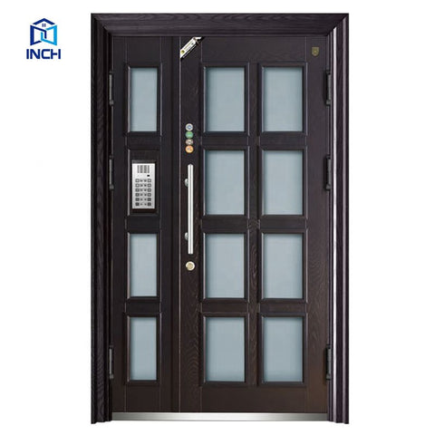 Intelligent antitheft security steel door with digital lock good price on China WDMA
