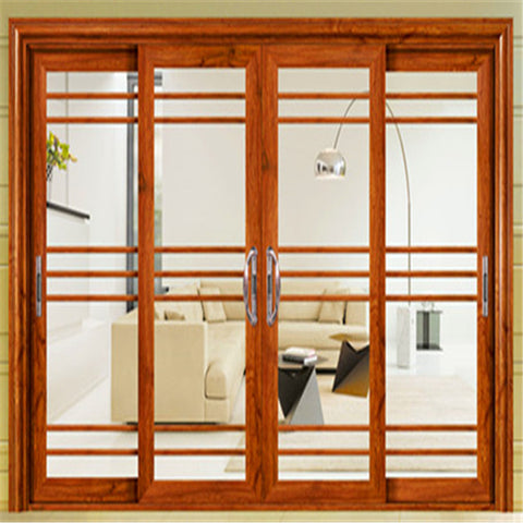 Interior Commercial House Main Design Patio Door Double Sided Doors Side Sliding Windows on China WDMA