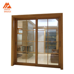Interior Sliding Solid Walnut Doors With Good Prices on China WDMA