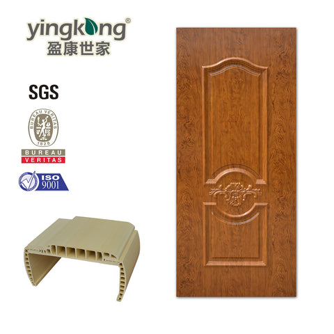 Interior luxury design ABS/PVC/WPC door for bathroom waterproof on China WDMA
