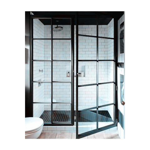 Iron window grill design steel window grill design door window frame double glazed glass windows and doors on China WDMA