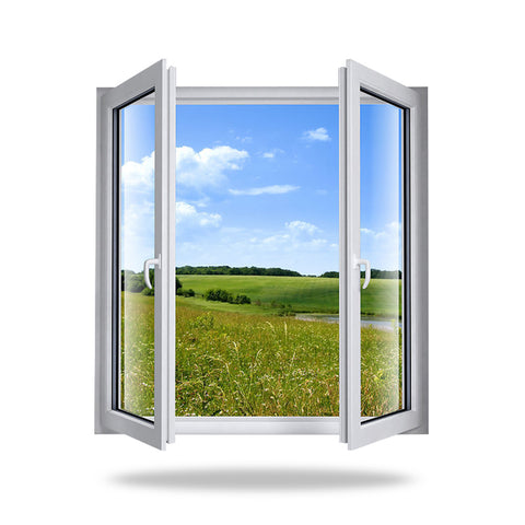 J-Channel Pvc Double Hung Windows doors Factory Price Upvc Window Design on China WDMA
