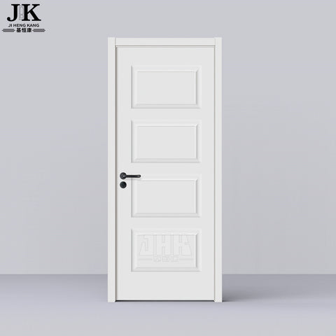 JHK-011 White Wood Timber Wooden Blinds White Primer Door on China WDMA