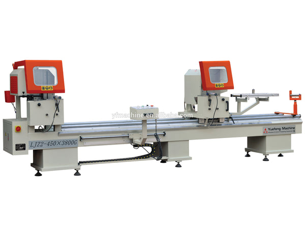 Jinan Aluminum Window Profiles Cutting Machine Upvc Window Fabrication Machine on China WDMA