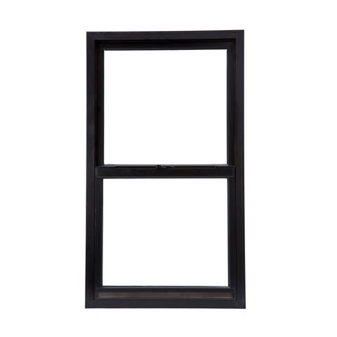 LZ Cost efficient aluminum single hung windows aluminum up down sliding window on China WDMA