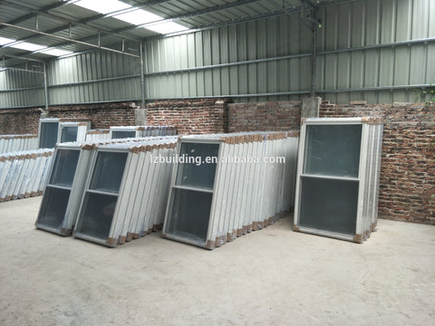 LZ Vinyl PVC windows single hung on China WDMA
