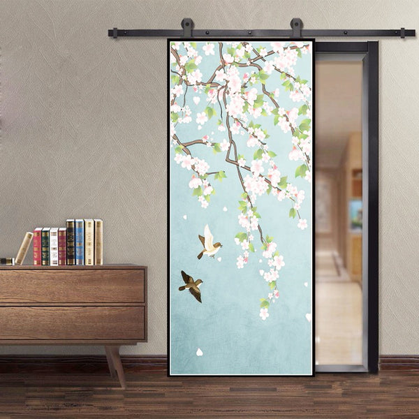 Large Sash Foldable Pocket installing Bifold Aluminium patio sliding Tempered glass door company on China WDMA