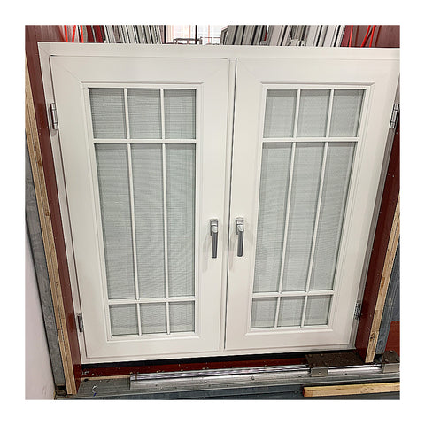 Large blind inside double layer glass window on China WDMA