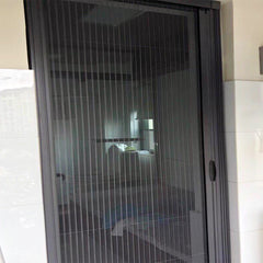 Latest decoration design germany flash sale frame decorative garage sliding screen door window screen
