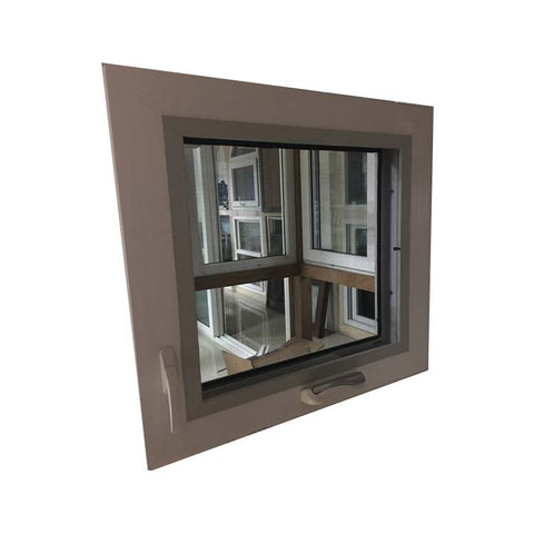 Latest design Crank open window pvc windows with top brand hardware on China WDMA
