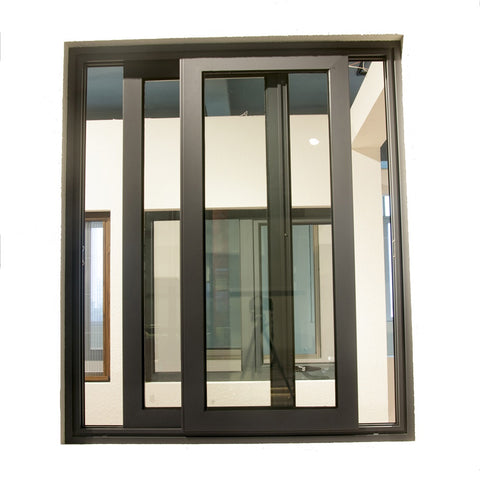 Latest double glazed sliding window design aluminum sliding windows price philippines on China WDMA